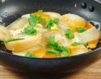 Smažená vejce s brambory