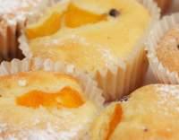 Meruňkové mufiny s jogurtem