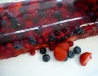Terinka z červeného ovoce