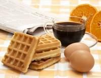 Pomerančovo-skořicové vafle