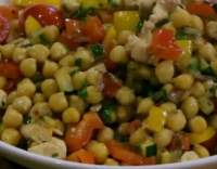 Salát z cizrny II