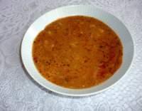 Bramborová polévka s paprikou