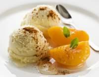 Meruňková zmrzlina