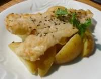 Rybí filé smažené přírodní