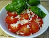 Rajčatový salát po italsku