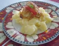 Kuřecí prsa smažená v bramborákovém těstíčku