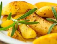 Pečené brambory s rozmarýnem