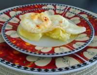 Sázená vejce se smetanou