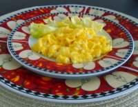 Smetanová míchaná vejce