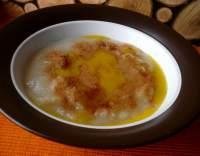 Jablečná krupicová kaše