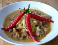 Vepřová pečeně s paprikovou smetanovou omáčkou