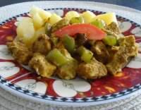 Vepřové nudličky s paprikou na pivě