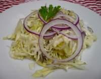 Jemný zelný salát