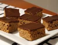 Čokoládové řezy s polevou