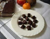 Čokoládovo-pistáciové cukroví