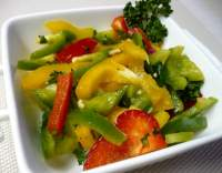 Rychlý paprikový salát