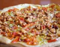 Pizza s krůtím masem