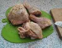 Na aromatických kořeních kuře