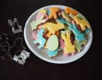 Barevné velikonoční sušenky
