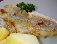 Rybí filé pečené na másle (minutka)