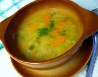 Zimní zeleninová hustá polévka