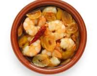 Krevety se zázvorem a chilli papričkami