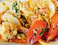 Pikantní krab na kari