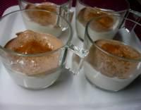 Karibský jogurtový krém s banány