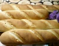 Škvarkové bagety s česnekem