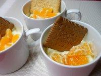 Jogurtový krém s ovocem