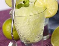 Citronová granita