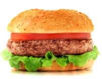 Hamburger s bylinkami